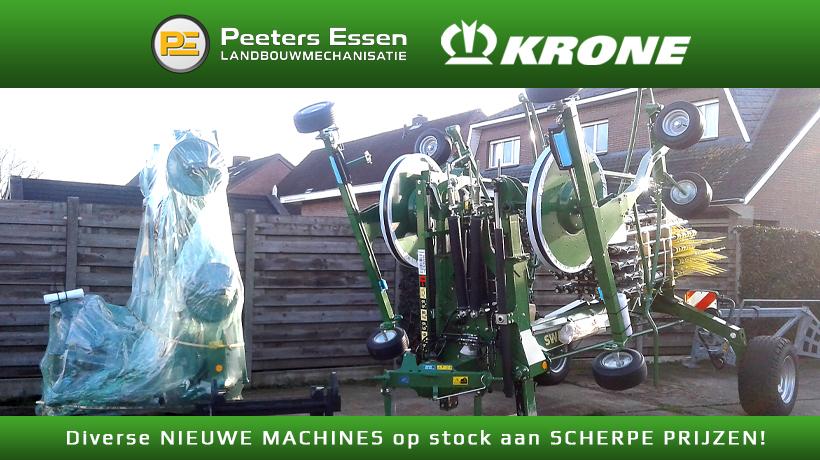 Nieuwe Krone machines in stock